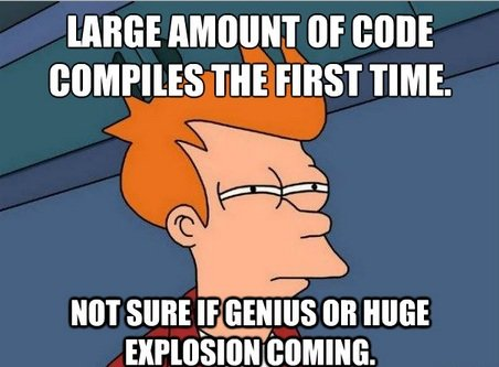 Compile-Program-meme 3 Common Programming Errors