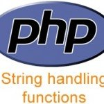String Functions PHP