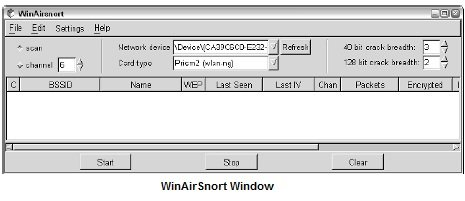 airsnort windows 7