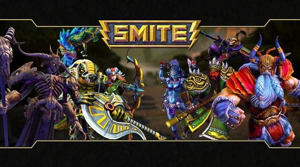 Smite The MOBA Alternatives