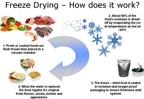 Freeze-Drying-Process 10 Tech Invention from Outer Space