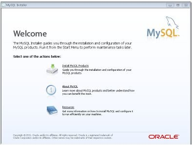 The-opening-screen-of-the-MySQL-Setup-Wizard How To Install MySQL on Linux, Windows, And Mac
