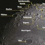 Lunar libration favours the north polar region