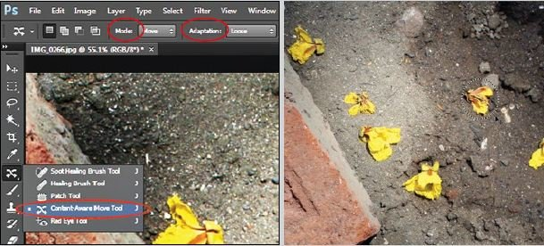 Content-Aware-Move-Tool-in-Adobe-Photoshop Simple way to remove object inside picture using Adobe Photoshop