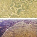 Giant Iron Age artworks spotted from space