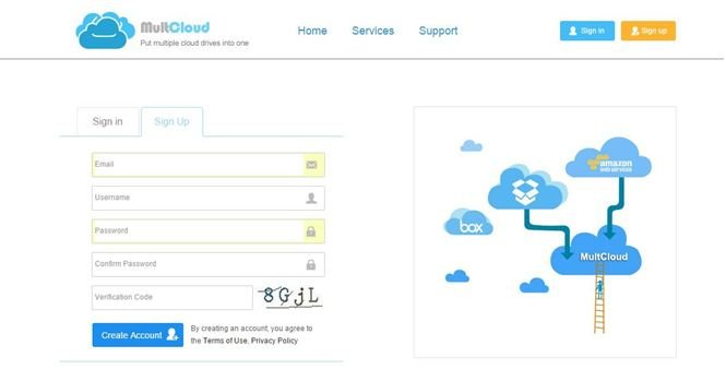 How-to-use-MultCloud-2 Manage Multiple Cloud Service Storage Space at Single Location with MultCloud