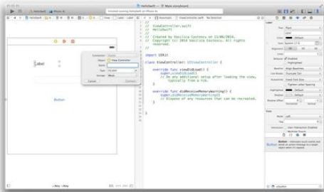 "Simple-Hello-World-iOS-Swift-Programming How to Create iOS Swift ""Hello World"" Program"