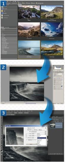 Image-Editing-Workflow Manage Your Photos From Capture to Output in Three Stages