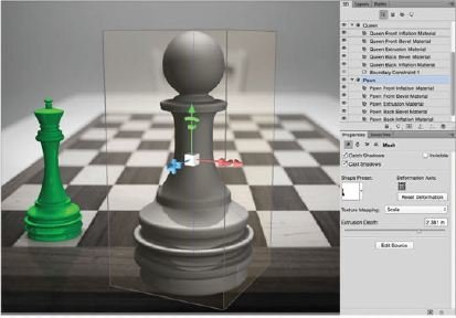 Make-A-Pawn-Chess-Photoshop-3D Create A 3D Chess Set with Photoshop