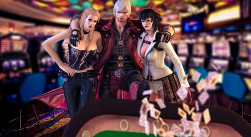 Nero-Trish-and-Lady Devil May Cry 4: Special Edition