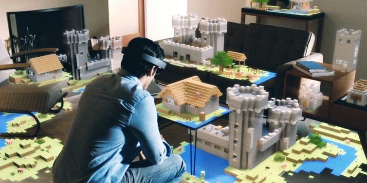 Hololens-Minecraft Is Hololens For Real?