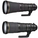 Nikon releases new lenses AF-S Nikkor 600mm