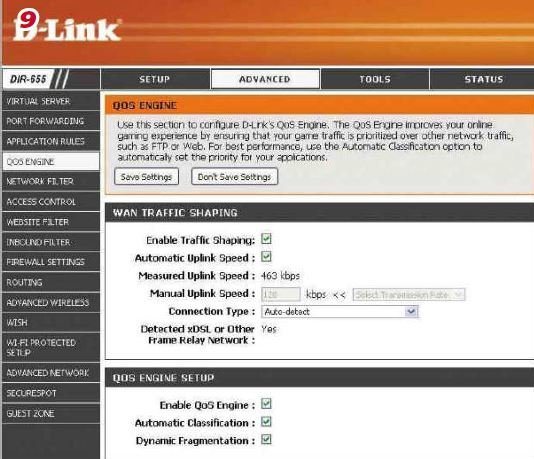 Dlink-QOS-settings 10 Tips to Speed Up Your Home Networking Connection
