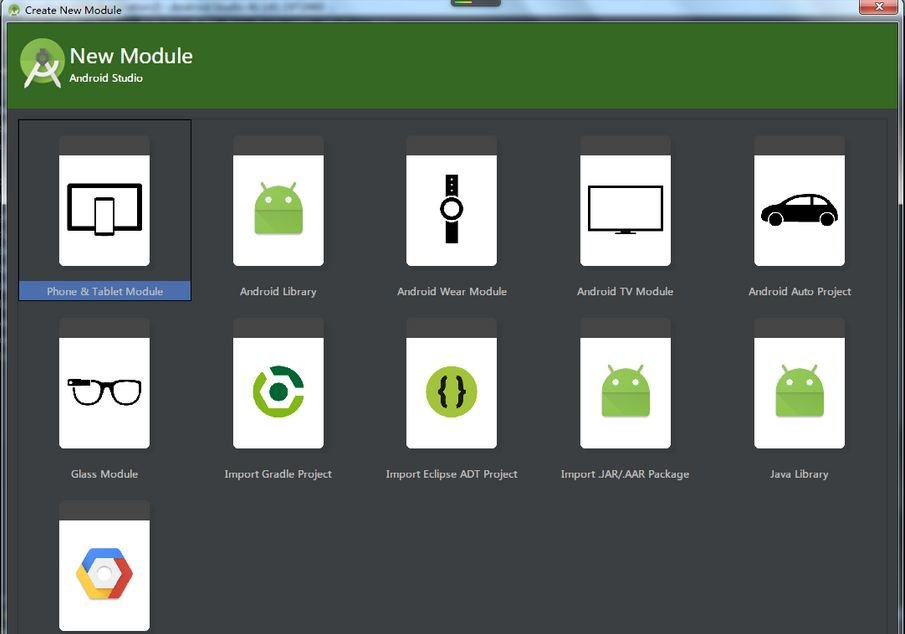 Modules-for-different-requirements Android Studio: A Platform for Android Development