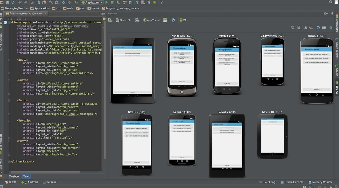 Preview-app-from-android-studio Android Studio: A Platform for Android Development