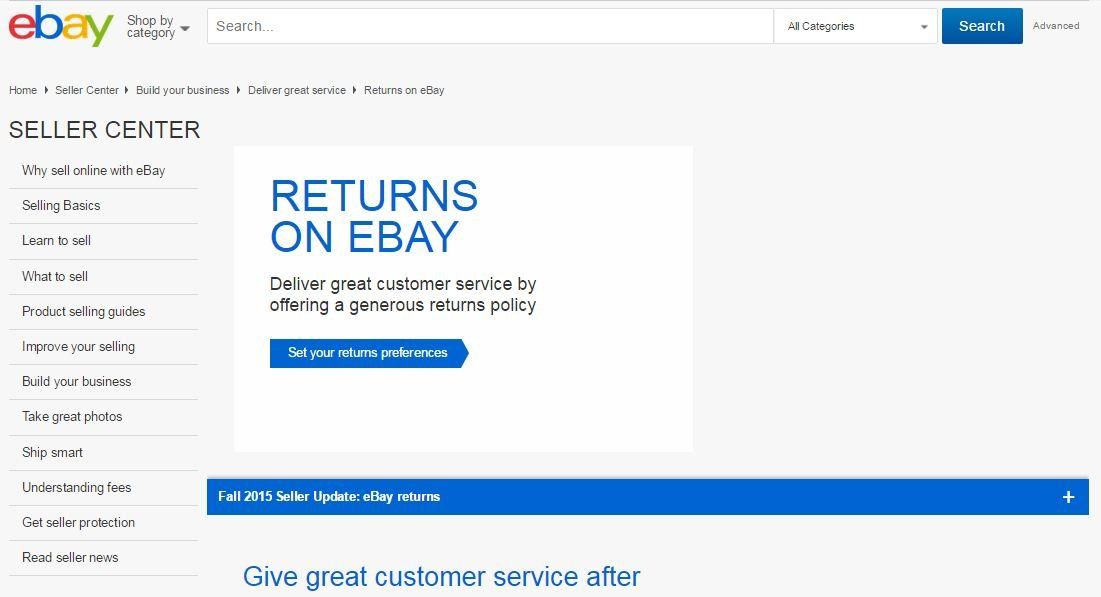 eBay-seller-center How to Deal With Disputes on eBay
