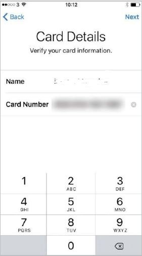 Confirm-card-details How to Set Up Wallet and Activate Apple Pay