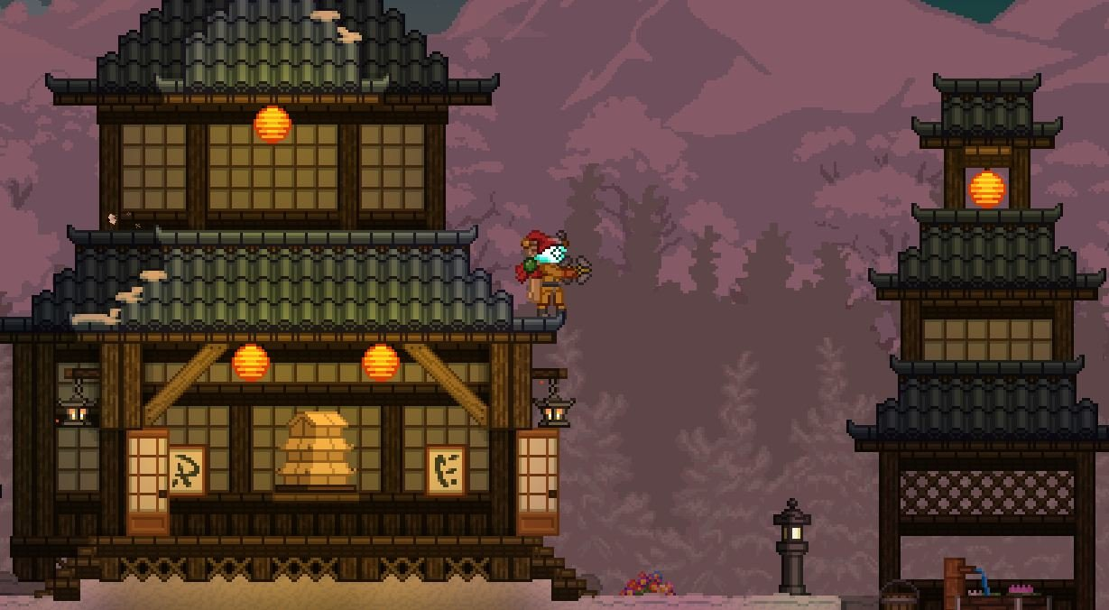 starbound-gameplay Starbound, A Satisfying Endless Space Sandbox