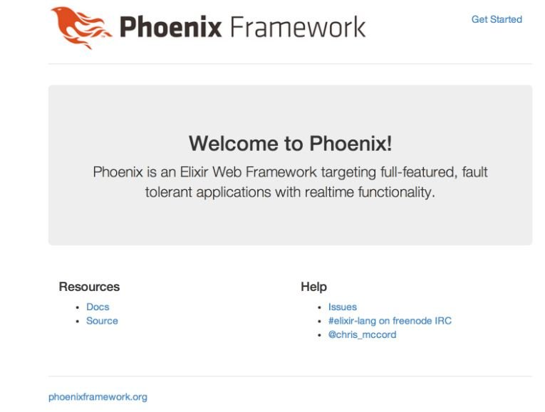 Phoenix-Default-web-page Building A Website With Phoenix Framework